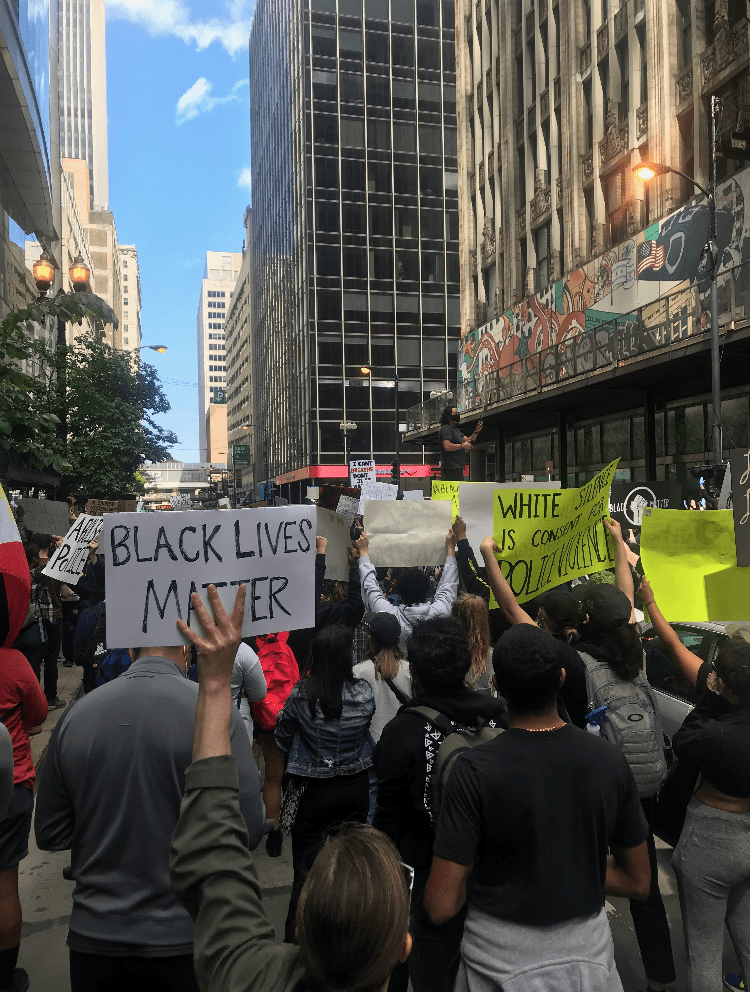 Photo Recap: Saturday's Protest for George Floyd in Downtown Chicago